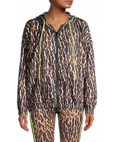 Длинная куртка для полных с капюшоном с длинными рукавами Pam & Gela