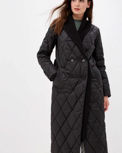 Черная утепленная куртка Grand Style