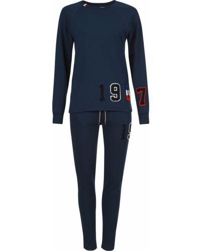 Хлопковый спортивный костюм - синий Rossignol