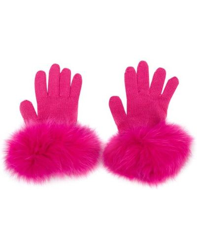 Перчатки розовый Catya Kids