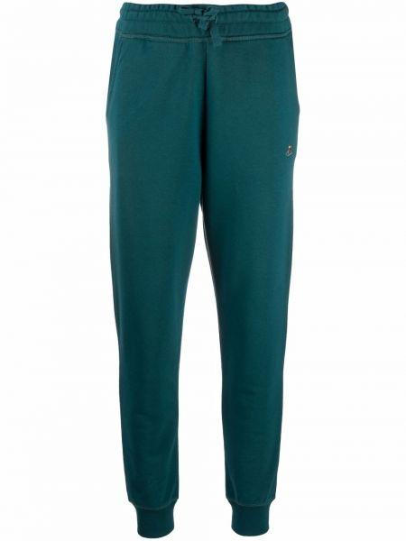 Зеленые брюки с манжетами Vivienne Westwood