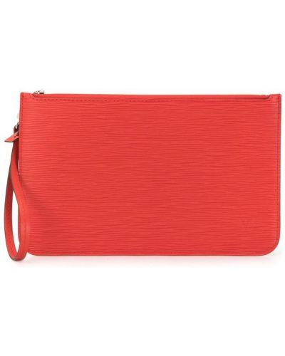 Красный клатч винтажный Louis Vuitton Pre-owned