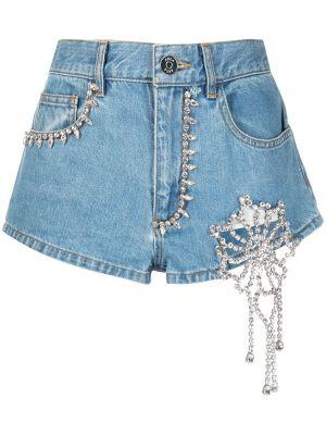Синие джинсовые шорты классические Area