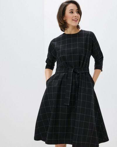 Базовое прямое черное платье Base Forms