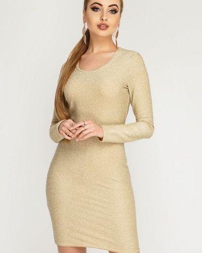 Вечернее платье - золотое Leo Pride