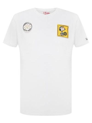 Белая итальянская футболка Mc2 Saint Barth