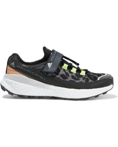 Черные резиновые кроссовки Adidas By Stella Mccartney