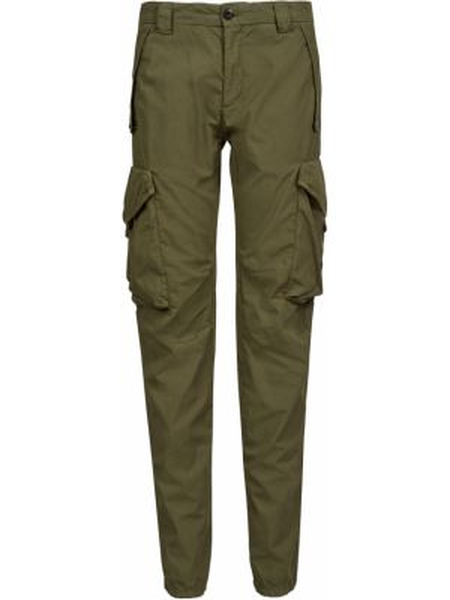 Хлопковые брюки - зеленые C.p. Company