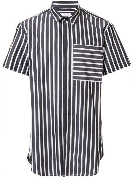 Классическая рубашка с короткими рукавами на пуговицах Strateas Carlucci