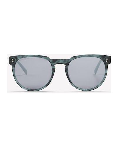 Niebieskie klasyczne okulary Marc O Polo