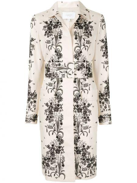 Пальто классическое с воротником с карманами на пуговицах Giambattista Valli
