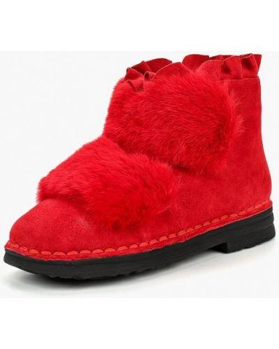 Ботинки осенние замшевые Grand Style