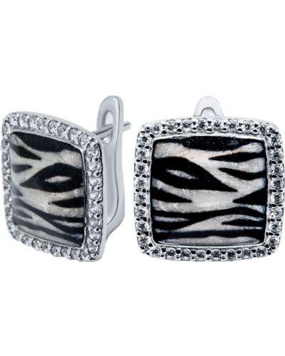 Серебряные серьги Silver Wings