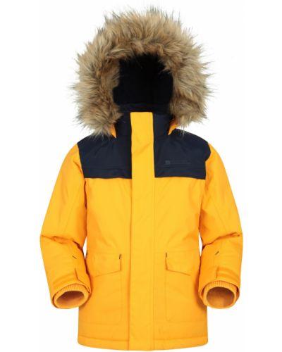 Ciepła żółta kurtka Mountain Warehouse
