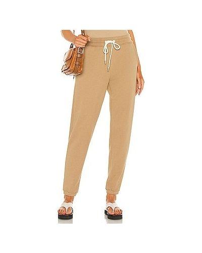 Хлопковые брюки эластичные с завязками Atm Anthony Thomas Melillo