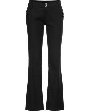 Классические брюки - черные Bonprix