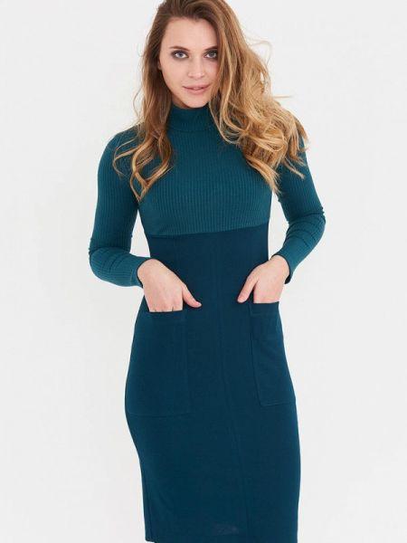Зеленое платье Donatello Viorano