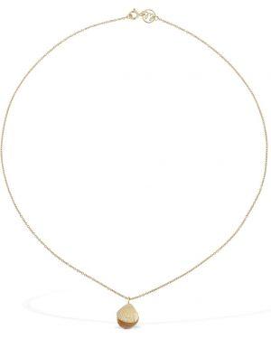 Złoty naszyjnik perły Lil