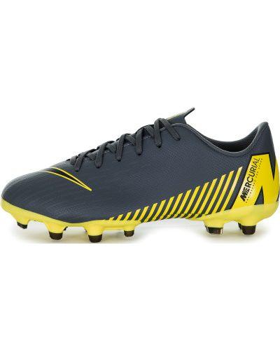 Бутсы футбольные кожаные Nike