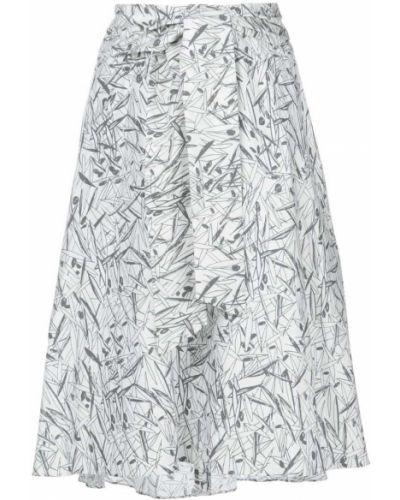 Хлопковая юбка - белая Chalayan