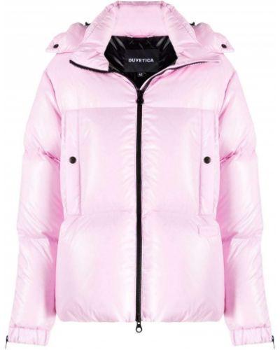 Стеганая куртка - розовая Duvetica