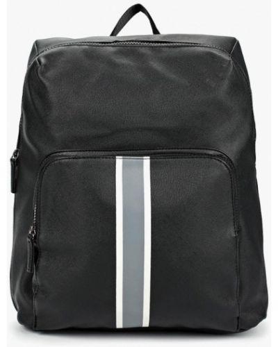 Рюкзак городской черный Piazza Italia