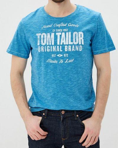 Голубая футболка Tom Tailor