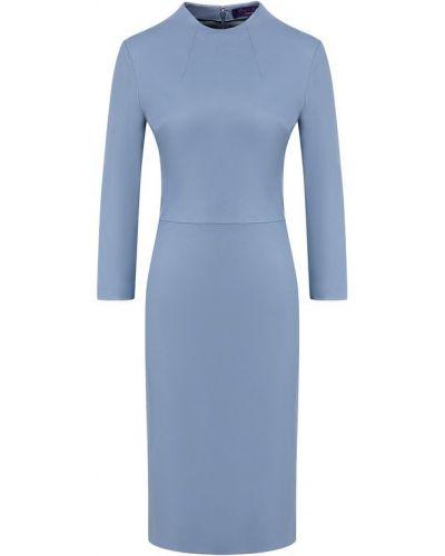Платье футляр голубой Ralph Lauren