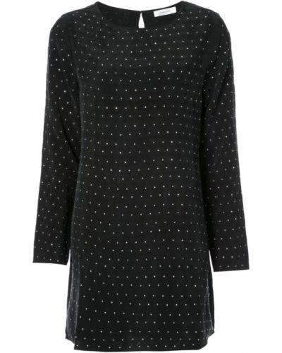 Платье миди в горошек на пуговицах с длинными рукавами Anine Bing