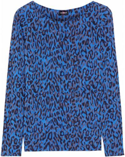 Синий текстильный топ с принтом Cosabella