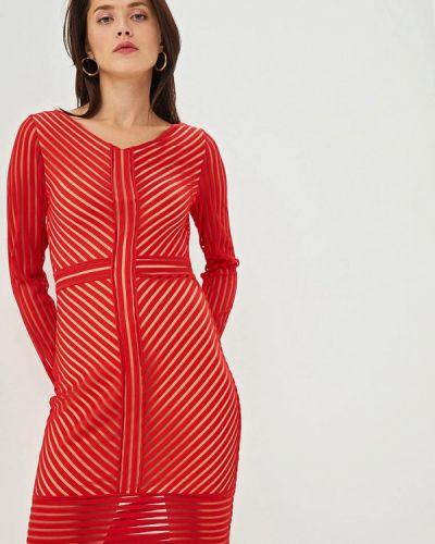 Платье платье-сарафан красный Gepur