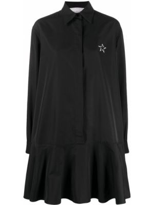 Платье на пуговицах с заниженной талией Valentino