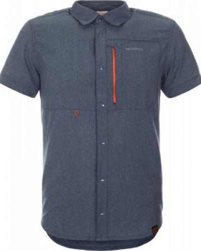 Рубашка с короткими рукавами с карманами спортивная Merrell