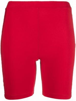 Красные шорты из полиэстера Atu Body Couture