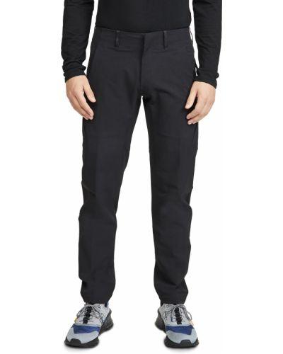 Текстильные черные брюки стрейч Arc'teryx Veilance