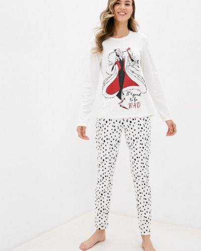 Пижамная белая пижама Tezenis