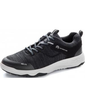 Черные кожаные туфли Outventure