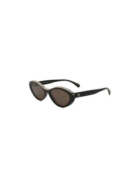 Белые муслиновые солнцезащитные очки Chanel