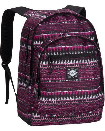Różowy plecak z printem Hot Tuna