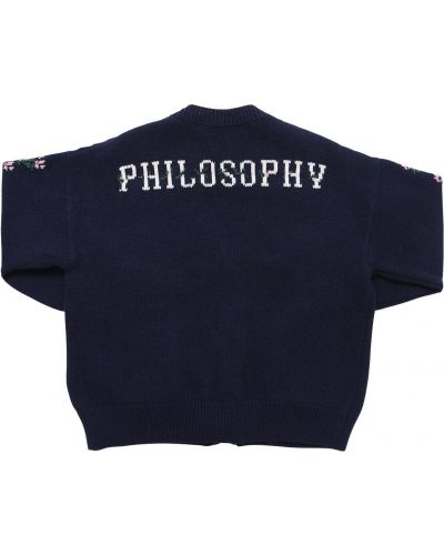 Kardigan z wiskozy Philosophy Di Lorenzo Serafini