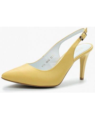 Кожаные туфли на каблуке Keryful