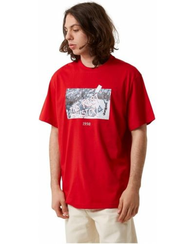 Czerwona t-shirt Throwback