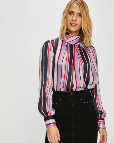 Блузка прямая с манжетами Vila
