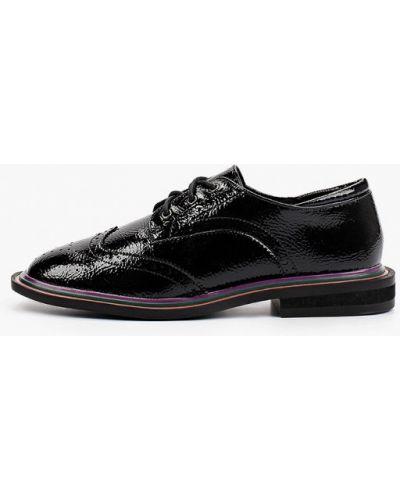 Черные лаковые ботинки Keddo