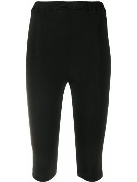 Черные с завышенной талией шорты Atu Body Couture
