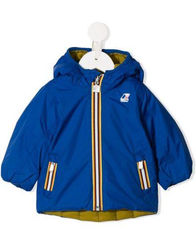 Płaszcz przeciwdeszczowy - niebieski K Way Kids