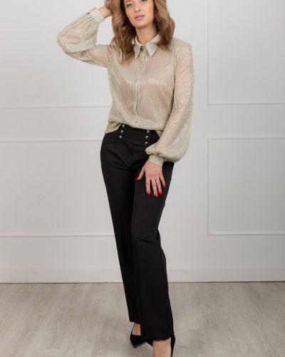 Блузка с люрексом из крепа Lacywear