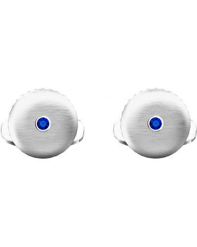 Запонки - синие Swarovski