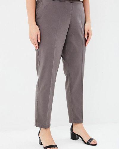 Серые зауженные брюки Samoon By Gerry Weber