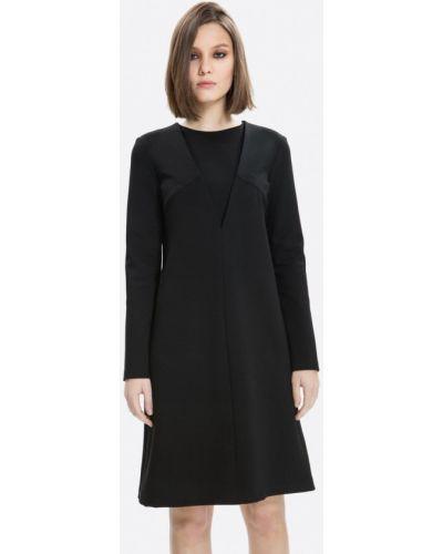 Прямое черное платье Lavlan